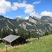 Die Kirschbaumhütte auf der Alp Innerschneit