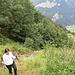 Die Alp Innerschneit liegt unter uns.