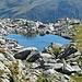 Laghetto del Piz Scai, 2540 metri circa.