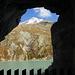 Blick aus dem Tunnel zum Stelli, 3353m.