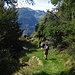 Um die nächste Ecke kommt das Plateau von Tenc di Fuori in Sicht