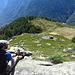 Die herrliche Ebene von Tenc di Fuori. Hier hätte ich gern ein Häuschen. Und einen Gleitschirmschein.