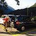 Start in Frasco an der Kirche, hier gibt es Parkplätze