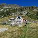 Das Rifugio Alpe Costa, ein wirklich schnucklig und liebevoll ausgebautes Plätzchen. Hier kommen wir sicher nochmal her, dann aber mit Kind und Trage.