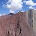 Auf dem Pik Baschenka vor Geologie wie aus dem Bilderbuch