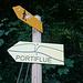Wanderer und Portiflue-Bezwinger gehen unterschiedliche Wege