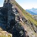 Ungefähre Route beim Wiederaufstieg aus der Metzgerchälen (ohne Gewähr)