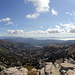 Panorama from Granite Chief towards Lake Tahoe
