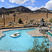 A swimming pool at an altitude of >8000 ft (almost 2500m)!