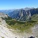 Ausblick nach Westen/Nordwesten von der Oberzalimscharte