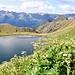 Il Lago Superiore di Taneda.