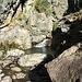 La Serra: il terzo guado sul rio Pogallino, dove i segnavia rossi finiscono