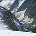 Schneegestöber auf dem Gipfel - Blick zum Zwischenbergpass