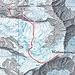 Routenferlauf aufgezeichnet durch's GPS