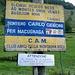 Sentiero che collega Carcoforo (Vc) a Macugnaga (Vb) transitando per il Passo delle Miniere.