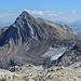 Im Südosten die Schesaplan mit ihrer paradeseite über den immer mehr verschwindenden Brandner Gletscher.