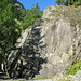 Abstieg ins Vallon de Van. <br />Hier gibt es einige schöne Klettergärten