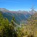 Ausblick bei der Bellavistahütte