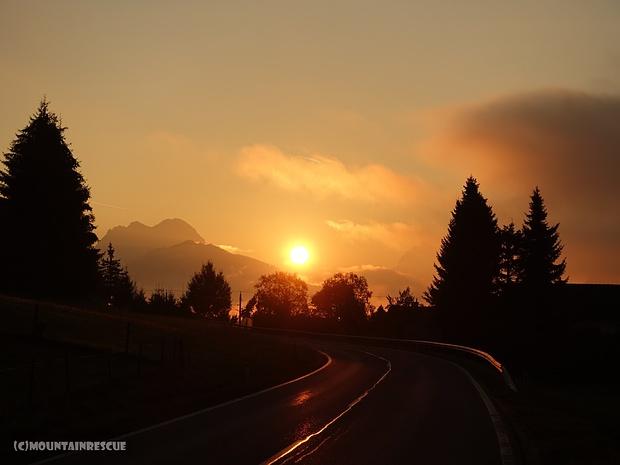 Herrlicher Sonnenaufgang...