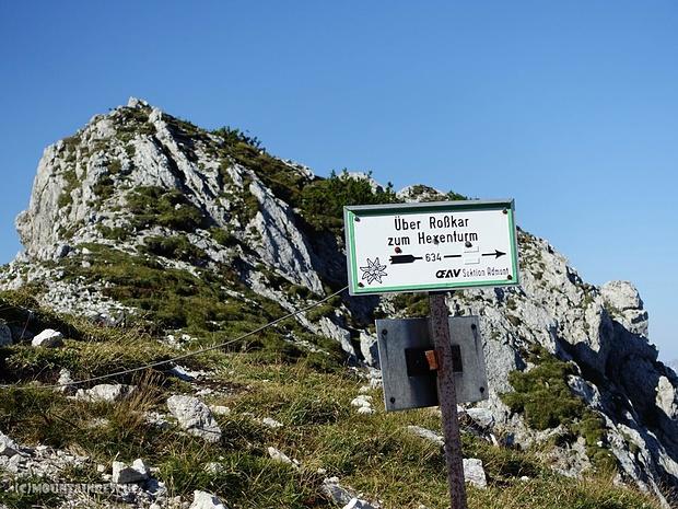 Abstieg Richtung Rosskar...