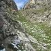 Die steile Passage des Jägersteigs, sieht wie üblich auf dem Foto nicht so steil aus