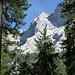 Windhaspel-Nordkante beim Abstieg, die größte Herausforderung ist wohl die, den Einstieg zur erreichen