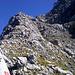 Da gehts hinauf zum richtigen Einstieg in die Südwand