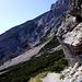 Auch der Normalweg vom Riemannshaus bietet einen Alpinen Eindruck