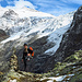 nach der ersten Hälfte des Klettersteigs beschlossen wir dem Hüttenweg zu folgen