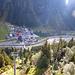 Mit der Rifflseebahn gehts ab Mandrfen zügig hinauf nach Sunna Alm (Bergstation).