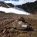 Die erste Warntafel vor dem Betreten des Gletschers ... wer das jetzt nicht alles mitgebracht hat, hat die letzten 7km umsonst zurückgelegt.