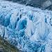 Zerklüftetes Eis im Zoom