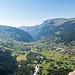 Grindelwald kurz vor Erreichen der Pfingstegg