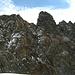 primo piano sulla cima della Sorgente di Dentro m.3516