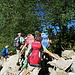 Ausstieg aus dem Fallenbach