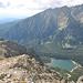 Tiefblick in das Mengusovska dolina.