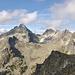 Cesky stit 2500m, Vysoka 2560m links der Bildmitte
