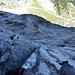 Kletterei an schönen Wasserrillen