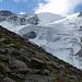 Von unterwegs ... gegenüber die Taschach Eiswand unterhalb der Petersenspitze.<br />