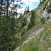 Auf dem Weg zum Hohen Straußberg-Gipfel / In viaggio alla cima dell`Hoher Straußberg