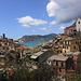 Vernazza, fotografiert vom Wanderweg Richtung Corniglia