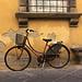 Ein altes Fahrrad