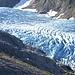 Den Gletscher anfangs immer im Blick