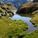 Eines der vielen Seen auf Alp Randinascia