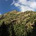 Unterwegs bei La Molinassa - Blick auf die gegenüberliegende Talseite zu den südlichen Ausläufern des Pic d'Areste. Foto vom 11.09.2015.