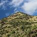 Unterwegs bei La Molinassa - Blick auf die südlichen Ausläufer des Pic d'Areste. Foto vom 11.09.2015.