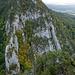 Blick ins Klettergebiet mit Bubikopf