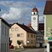 Ein bedächtiger Sonntag Nachmittag in Downtown Dollnstein