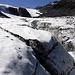 Plätschernde Wasserfälle im Griesgletscher