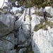 Der ungesicherte Kamin von unten (knapp II)